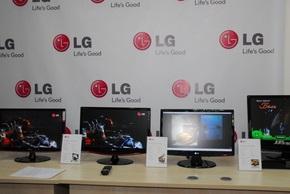 Компания LG представила в Киеве семь серий новых мониторов