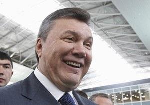 У Януковича произошел конфуз с Олимпиадами