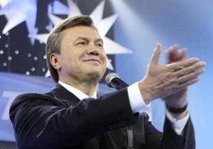 Янукович планирует убедительно победить на президентских выборах