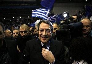 Президент Кипра сравнил кризис с турецким вторжением