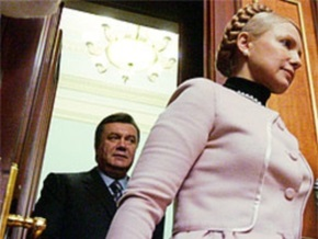 R&B: Разрыв между Януковичем и Тимошенко во втором туре выборов увеличился до 20%
