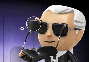 Сними очки с Лагерфельда. В интернете появилась новая видеоигра