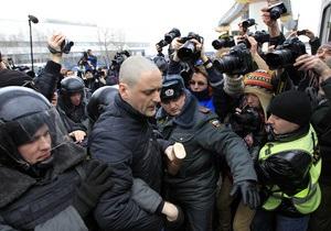 Московская полиция отпустила задержанных у Останкино демонстрантов