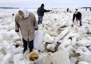 Воду в Киевском водохранилище спустят еще на полметра