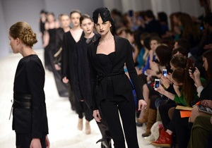 Третий день Ukrainian Fashion Week стал черным