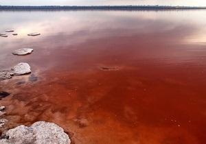 Одесские экологи рассказали, почему стала красной вода в Куяльницком лимане, и как его спасти