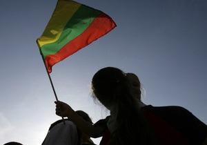 В Литве запретили указатели улиц на русском языке