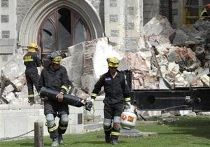 Число жертв землетрясения в Новой Зеландии превысило 100 человек