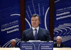 Янукович: Украина не собирается участвовать в созданий европейской системы ПРО