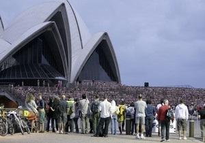 5000 голых геев и лесбиянок пришли сфотографироваться к Сиднейской опере