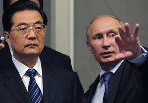 Лидер Китая поздравил Путина с победой на выборах