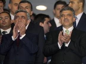 Болельщики освистали армянский гимн на футбольном матче, где присутствуют президенты Армении и Турции