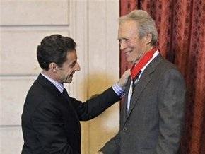 Клинт Иствуд стал командором ордена Почетного легиона
