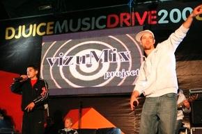 Фестиваль «DJUICE MUSIC DRIVE 2008» прокатился по Украине.