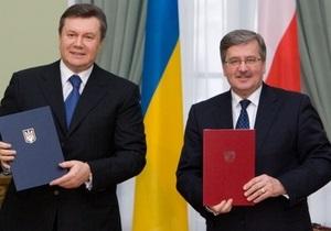 ЗН: Президент Польши посетит Киев 28 ноября, чтобы обсудить дело Тимошенко
