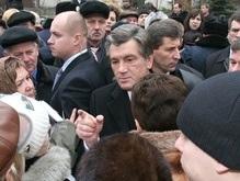 Встреча с Ющенко спасла от голода вкладчиков Элита-Центр