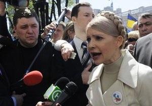 Тимошенко под Радой: Мы одержали первую победу