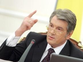 Ющенко: Положите на стол коррупционные деяния Еханурова, госпожа Тимошенко