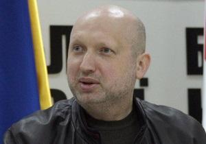 Турчинов отрицает, что Пискун закрыл дела против Тимошенко под давлением Ющенко