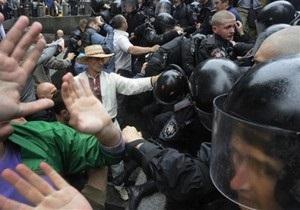В деле по языковым акциям протеста появился первый арестованный