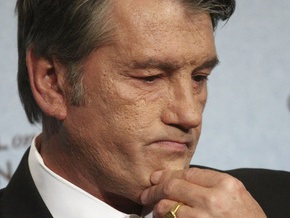 Ющенко заявил, что позиция России не позволяет провести демаркацию границы