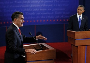 Предвыборные дебаты Обамы и Ромни собрали рекордную аудиторию за последние 20 лет