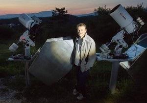 Украинский астроном впервые за годы независимости открыл новую комету