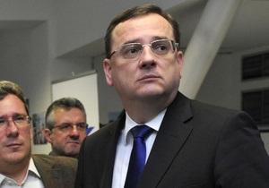 Чешский премьер уходит в отставку