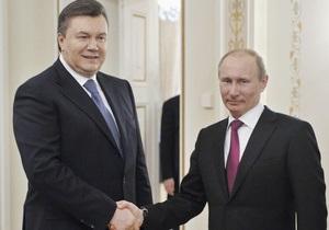 Путин едет в Киев, чтобы отговорить Януковича от сближения с ЕС - Ъ