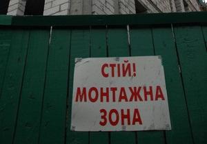 Вокруг сквера на Прорезной в Киеве появился забор