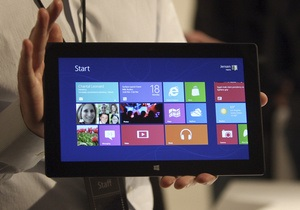 Фотогалерея: Конкурент iPad. Презентация планшета Surface от Microsoft