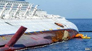 Хозяин Costa Concordia предлагает пассажирам по 11 тысяч евро