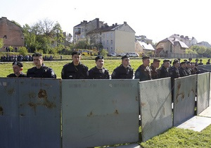 Могилев: Во Львове милиция справилась со своей задачей