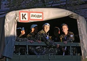 В Киеве на Крещатике прошла репетиция парада ко Дню победы