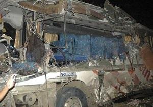В Китае на трассе загорелся автобус. Погиб 41 человек