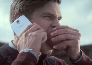 Игра на грани: Samsung выпустила рекламу про яблоки
