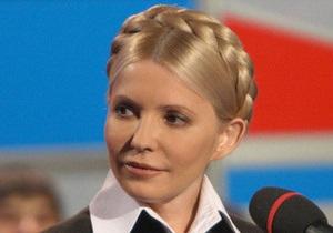 Тимошенко обратилась к Януковичу с просьбой без ошибок зачитать послание в Раде