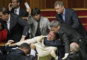 Украинские депутаты попали в рейтинг лучших политиков-бойцов в мире