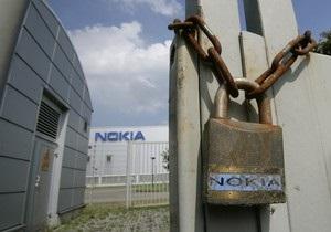 После презентации новых смартфонов Nokia ее акции резко обвалились