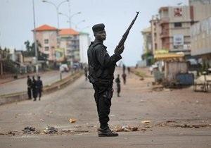В Гвинее объявили чрезвычайное положение