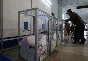 Пшонка: По фактам нарушений на местных выборах возбуждены девять уголовных дел