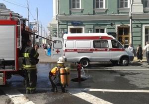 Трое пострадавших в результате пожара в московском метро попали в реанимацию