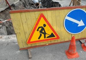 В Днепровском районе Киева провалился канализационный колодец