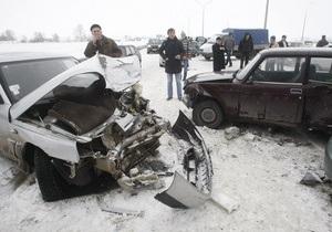 Эксперты подсчитали, что из-за ДТП Украина ежегодно теряет $5 млрд