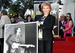 На Аллее славы в Голливуде появилась звезда Бадди Холли