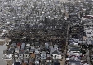 Ураган Сэнди: Более 30 тысяч домов более месяца отсаются без света
