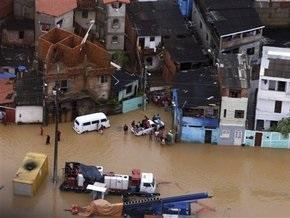 В Бразилии растет число жертв наводнений