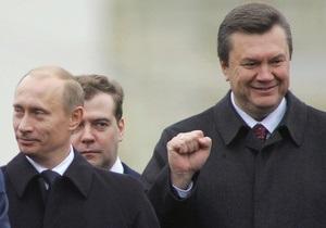 Путин поздравил Януковича: Надеюсь, что тяжелый период в жизни Украины позади (обновлено)