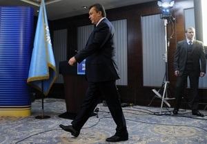 Янукович: Европейский путь Украины будет чистым, как крещенская вода