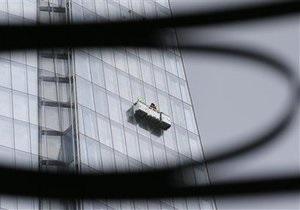 Новости США - странные новости: С небоскреба в Нью-Йорке спасли двух чистильщиков окон